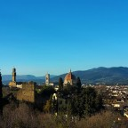 The gorgeous hills of Arcetri, Boboli and Pian dei Giullari in the Florentine Oltrarno